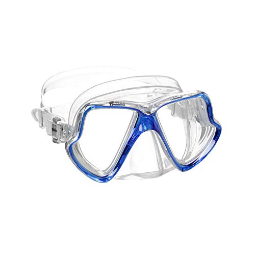 Mares Máscara Wahoo para adulto de silicona Reflex azul