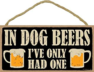 SJT. Enterprises, INC in Dog Beers, I've only had one with 2 Beer Mugs 5