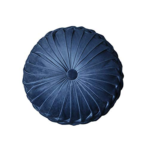 JMF Zacht Rond Kussen - Yoga of Meditatie Kussen, Kussen of Ondersteuning Kussen met Katoen Spandex Cover en Gevulde, Meditatie Kussens voor Zitten op Vloer 1 exemplaar