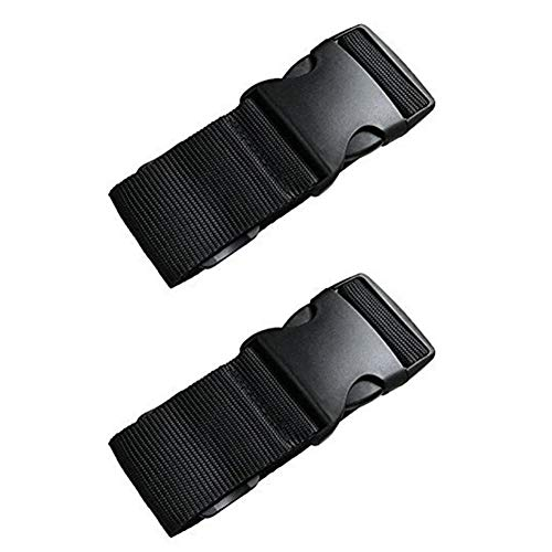 Luggage Straps Adjustable Suitcase Belts Heavy Duty Travel Accessories Bag Straps 2 Pack