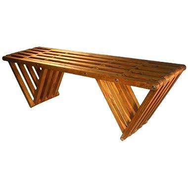 Bench X60, Light Brown