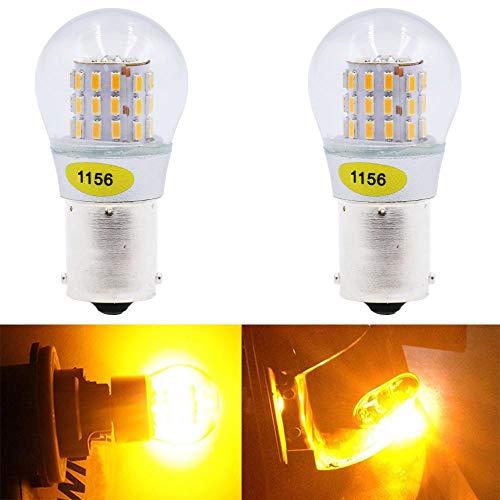 1156 led bulb amber - 5