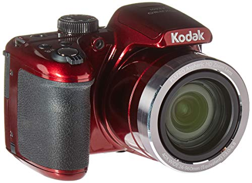 KODAK AZ401 Astro Zoom Bridge Camera - 16 Megapixels - Zoom ottico 40x - Rosso