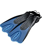 Cressi Palau Saf Fins – regulowane krótkie płetwy do pływania i snorkelingu, uniseks, dla dorosłych, różne kolory