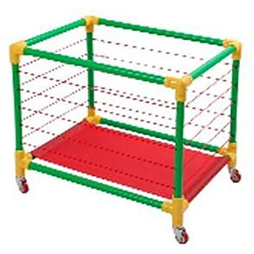 Rack di Stoccaggio da Calcio Stadium Rack del giocattolo del giocattolo del giocattolo del giocattolo del giocattolo del giocattolo della scuola materna Rimovibile Design di Grandi Capacità