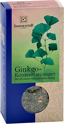 Sonnentor - Ginkgo Konzentrationstee lose bio - 40 g