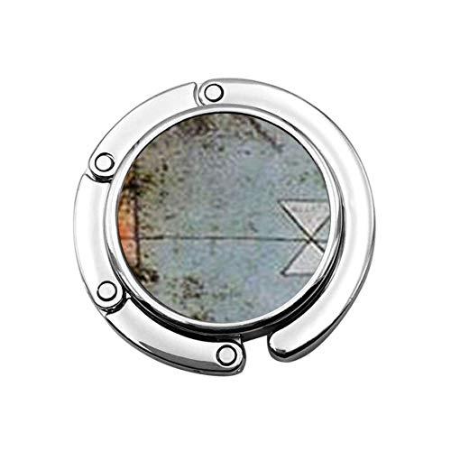 Niedlicher Faltbarer Geldbeutel-Aufhänger für Tisch, Geldbeutel-Haken Wunderbares Paul Klee Twittering