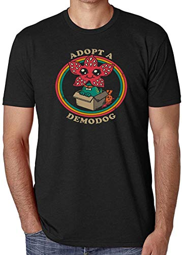 Ghghdfysdds Adopt A Demodog T-Shirt Stranger Things Inspired