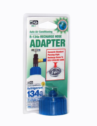 Interdynamics DVA-1 Car Air Conditioner Hose Adapter for R134A Refrigerant, Recharge Kit for Cars & Trucks & More