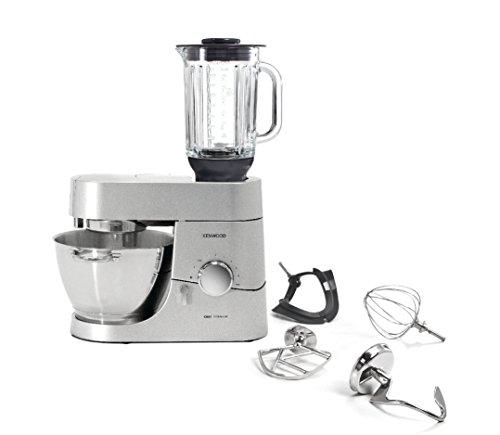 Kenwood-Chef-Titanium-KMC050-Kuechenmaschine-1400-W-46-l-Fuellmenge-4-teiliges-Patisserie-Set-16-l-ThermoResist-Glas-Mixaufsatz