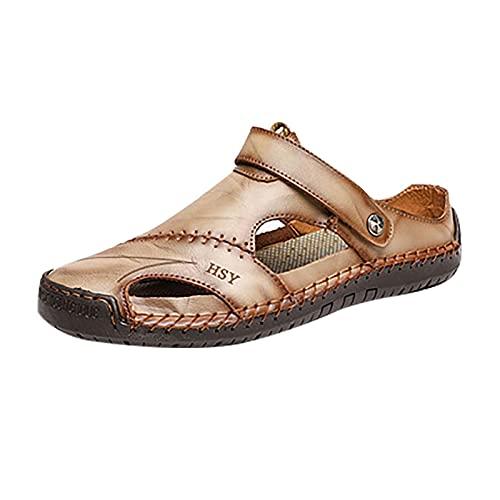 Sandales de Sport pour Hommes Sabots de Jardin intérieur pour Hommes Pantoufles Chaussures de randonnée Sabots Classiques Chaussures de Douche en Caoutchouc pour Sabots de Jardin pour Hommes