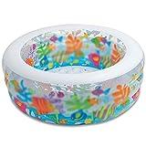 inChengGouFouX Piscina Inflable Casera Piscina Redonda Piscina para niños Piscina Piscina Inflable Piscina Experiencia Confortable (Color : Blanco, Size : 152x56cm)