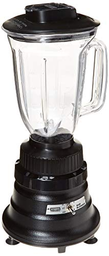 Waring Commercial BB155 2-speed 3/4 HP Bar Blender with 44 oz. BPA Free Copolyester Container, 120V, 5-15 Phase Plug