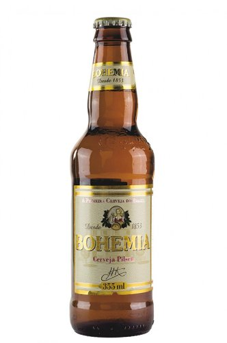 Leichteres brasilianisches Bier, Bohemia, 5,0% vol., Long-Neckflasche 355ml.