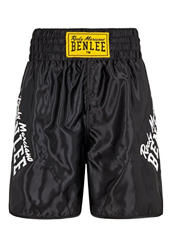 BENLEE Rocky Marciano Herren Boxhose Bonaventure, Schwarz, XL