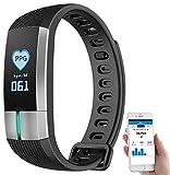 Newgen Medicals Uhr mit Blutdruckanzeige: Fitness-Armband mit Blutdruck-, Herzfrequenz- und EKG-Anzeige, IP67 (Fitnessarmband mit EKG)