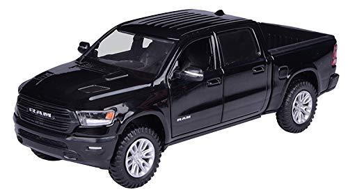Motormax Dodge Ram 1500 Pick-Up Doppelkabine Schwarz 5. Generation Ab 2019 1/24 Modell Auto