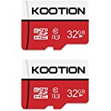 KOOTION Micro SD Card 32GB UHS-I Speed up to 80m/s,Memory Card Micro SDHC,class 10,U1