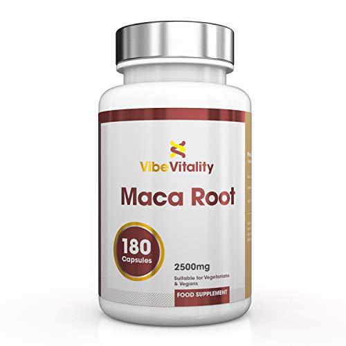 Vibe Vitality Macaworzel hoge dosis - 2500 mg per capsule, 180 veganistische capsules