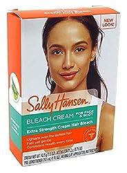 powerful Sally Hansen Cream Bleach Extra Strength Face  Body (2 Pack)