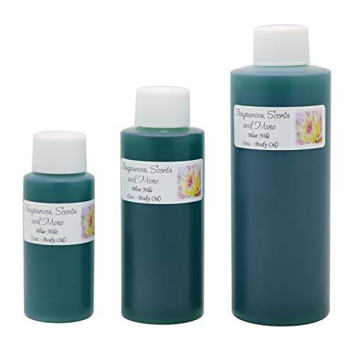 Blue Nile Perfume/Body Oil (7 Sizes) - (4oz Plastic Bottle (120ml))