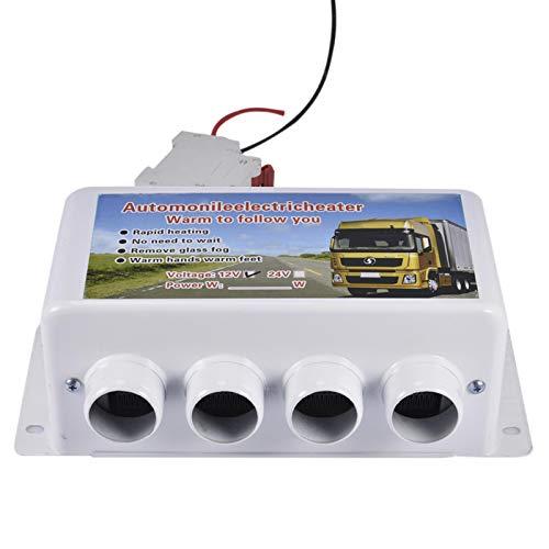 Standheizung Auto 12V / 24V Elektrische Lufterhitzer Heizlüfter, 4 Löcher Defroster Demister Für Windschutzscheibe, Für Auto RV Boote LKW Wohnmobil Bus - 500W-1000W