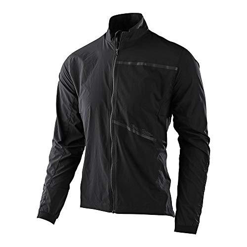 Troy Lee Designs Mens | All Mountain | Mountain Bike | Descent Jacket (Black, LG)