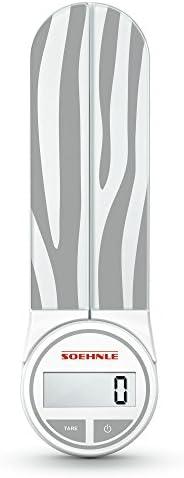Soehnle Genio Striped Digital Kitchen Scale Gray product image