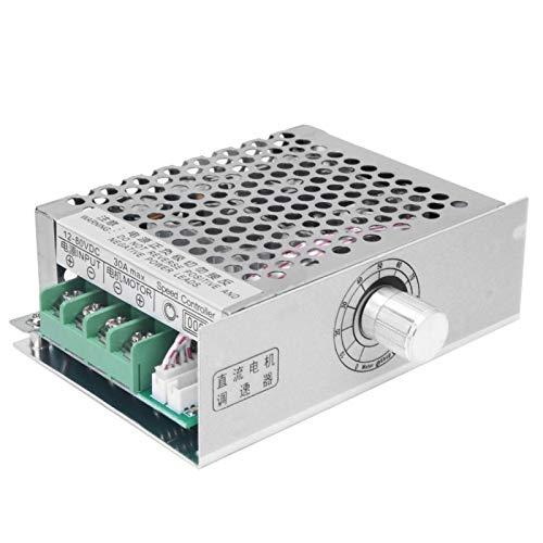KUIDAMOS DC12~80V Motorregler 30A PWM Motordrehzahlregler Elektromechanische Regler für Arduino