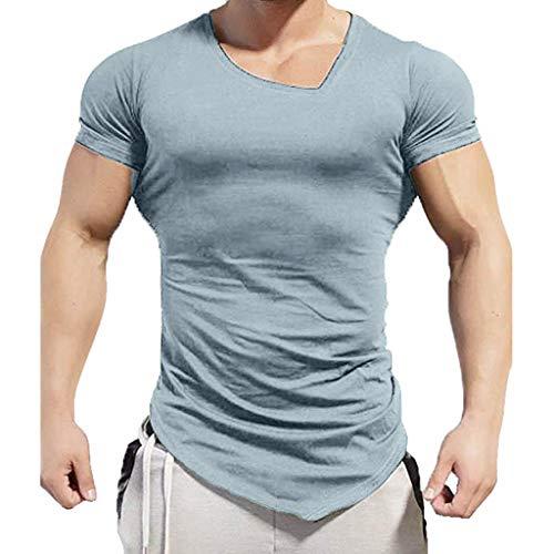Nuevo Sportstyle Camiseta de Manga Corta, Promociones Hombre Logo T-Shirt Camiseta, Camiseta para...