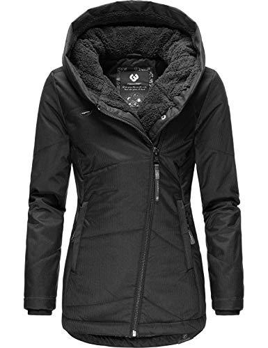 Ragwear Damen Winterjacke Outdoorjacke Gordon Schwarz20 Gr. XL