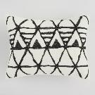 Ivory and Black Diamond Logan Pillow Shams Set of 2 | World Market