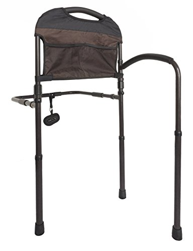 Lowest Price! Stander Mobility Rail, Senior Bed Rail and Assist Bar with Swing-Out Mobility Arm and ...