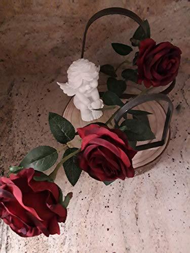 Grabschmuck, Grabdekoration, Gedenken an Verstorbene, Beerdigung Grabschmuck, Friedhof Dekoration, Grabherz, Grabdeko Engel, Grabengel
