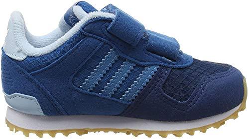 adidas Unisex Baby ZX 700 CF I Sneakers, Azul (Azuuni / Azuart / Ftwbla), 24