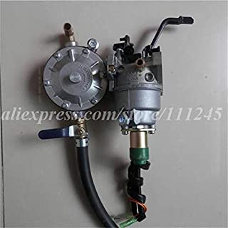 Corolado Spare Parts, 5Kw Tri Fuel Kit Carburetor Manual Chok for Honda Gx390 6500 Carb Ng Lpg Gasoline Methane Conversion Kit Propane Liquefield Gas