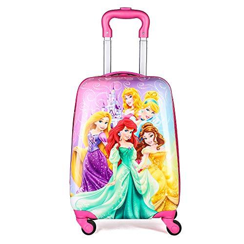 Caja De Palanca De Equipaje para Alumnos 18 Pulgadas Cinco Princesas