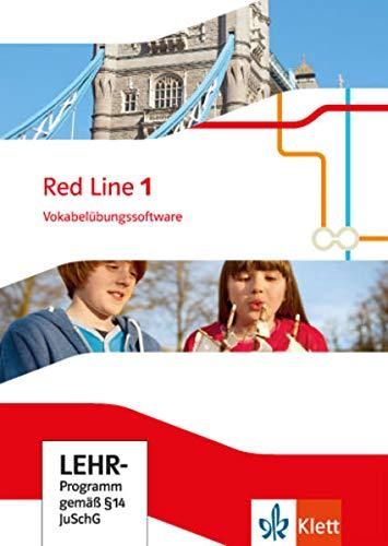 Red Line 1: Vokabelübungssoftware Klasse 5 (Red Line. Ausgabe ab 2014)