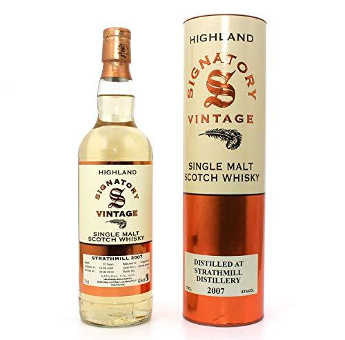 Strathmill 2007-10 Jahre - Signatory Vintage - Single Malt Whisky (1 x 0,7l)
