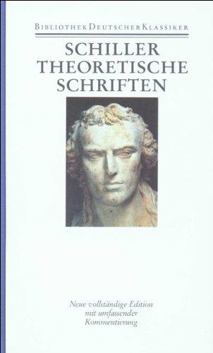 Werke und Briefe in zwölf Bänden: Band 8: Theoretische Schriften