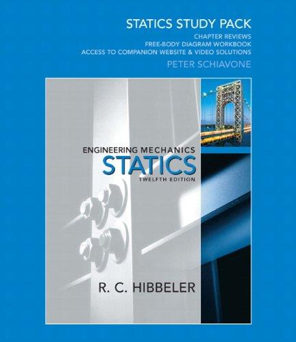 Engineering Mechanics Statics Study Pack