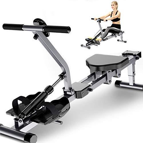 N-B Rudergerät für den Heimgebrauch faltbar, einstellbaren Widerstand Rudergerät mit LCD-Display, Fitness Cardio Workout Weight Loss Rower