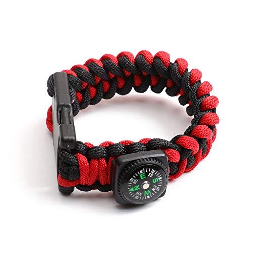 JOYKK draagbare gevlochten touw armband U Disk Flash Drive met kompas