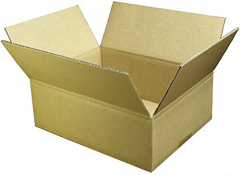 愛パックダンボール ダンボール箱 60サイズ 20枚 段ボール 日本製 無地 薄型素材 60S0320