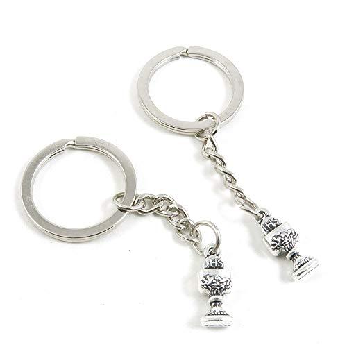 Antieke Zilveren Toon Sleutelhanger Sleutelhanger Sleutelhanger O2RG6L Trofee Sleutelhanger Ring Tag Sieraden Maken Bedels Antiek Zilver