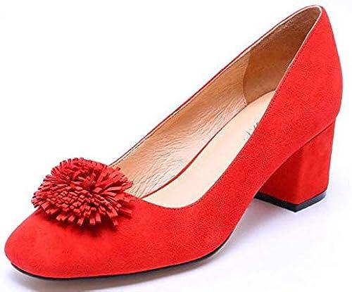 HhGold Leder - Runde Hart Mit Den Damen - Schuhe,Rot,36 Schuhe,Rot,36 Schuhe,Rot,36 (Farbe   Wie Gezeigt, Größe   EinheitsGröße)  Verkauf Online-Rabatt niedrigen Preis
