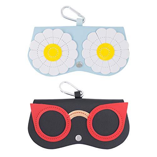 Funda para Gafas Bolsa de Gafas de Sol Suav Almacenamiento y Protección de Gafas Bolsas para Gafas de Sol 2 Unidades