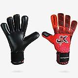 J4K Revo Negative Cut Goalkeeper, Soccer Goalie Keeper Glove (Size 6)