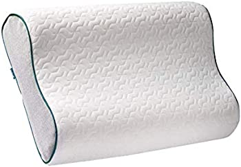 Bedsure Contour Memory Foam Pillow with Washable Bamboo Cover
