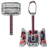 Buyton Avengers Thor Hammerwerkzeug-Set, 28-teiliges Haushalts-Werkzeug-Set – Thor Schlachthammer – langlebig, Chrom-Finish Werkzeuge mit Thor Hammer Koffer